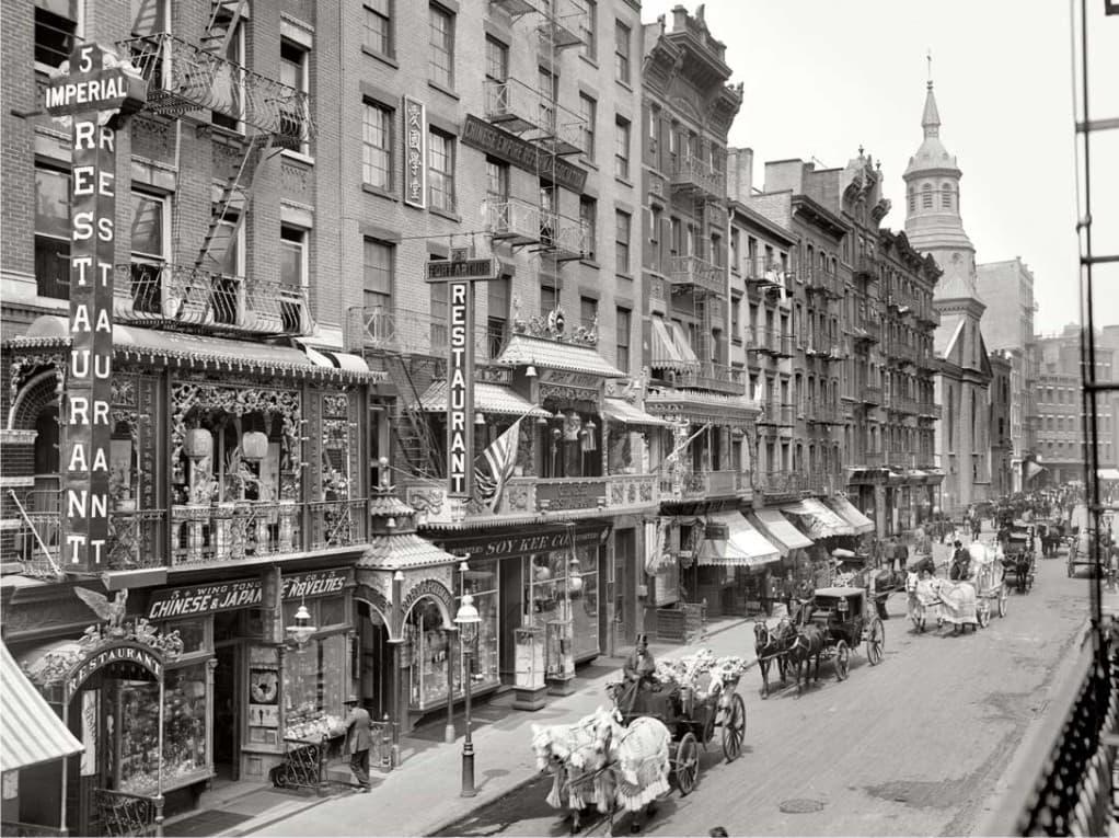 Партнеру бизнесу, картинки городов 19 века сша